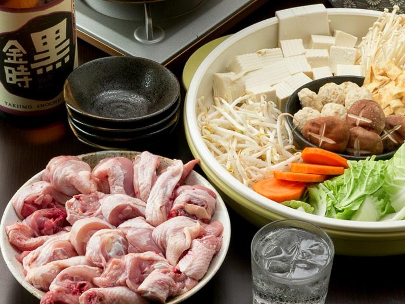 人気No.1!! とり心自家製殻スープの特選鍋コース